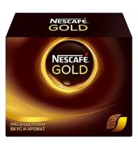 Кофе порционный Nescafe Gold 30шт х 2г растворимый, коробка
