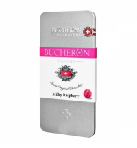 Шоколад Bucheron Stand'Art молочный с малиной, 100г, ж/б