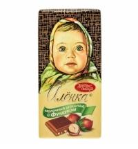 Шоколад Красный Октябрь Аленка с фундуком 100г