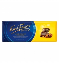 Шоколад Fazer темный 200г, апельсин
