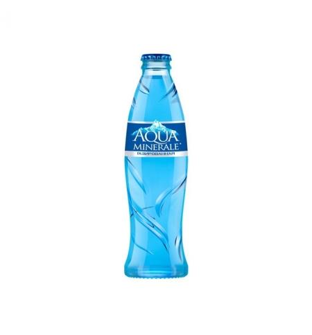 фото: Питьевая вода Aqua Minerale газ, 250мл, стекло