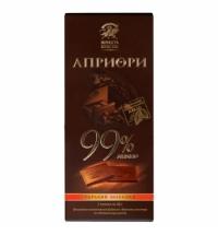 Шоколад Априори горький 99% 5гх20шт