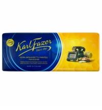 Шоколад Fazer молочный 200г, миндаль и мед