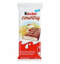 Шоколад Kinder Сountry со злаками 23.5г