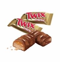 Батончик шоколадный Twix Minis 1 кг