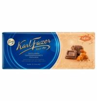 Шоколад Fazer молочный 200г, соленая карамель