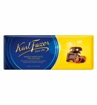 Шоколад Fazer фундук 200г, молочный