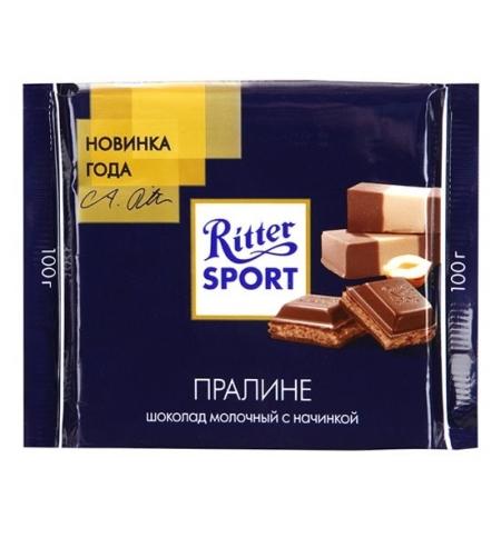 фото: Шоколад Ritter Sport 100г пралине молочный