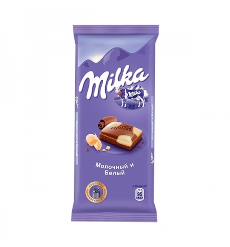 фото: Шоколад Milka с белым 90г