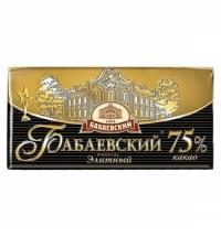 Шоколад Бабаевский Элитный горький 100г