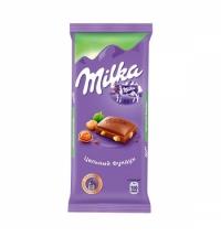 Шоколад Milka с цельным фундуком 90г