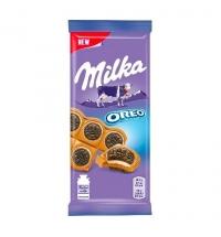 Шоколад Milka сэндвич Oreo молочный, 92г