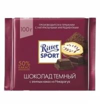 Шоколад Ritter Sport 100г темный с какао