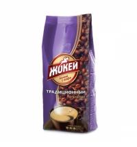 Кофе в зернах Жокей Традиционный 400г пачка