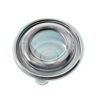 Крышка к суповому контейнеру Протэк ПР-МС-500 на 500мл d 14.4см, прозрачная, 540шт/уп