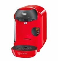 Кофемашина капсульная Bosch Tassimo Vivy TAS 1253 1300 Вт, красная