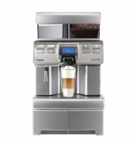 Кофемашина автоматическая Saeco Aulika Top High Speed Cappuccino 1400 Вт, серебристая