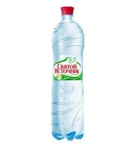 Святой Источник газированная вода 1,5 литра, ПЭТ