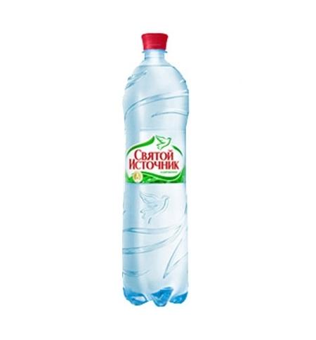 фото: Святой Источник газированная вода 1,5 литра, ПЭТ