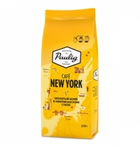 Кофе молотый Paulig New York 200г пачка
