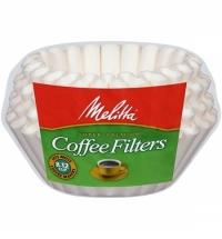 Фильтры для кофеварок Melitta Корзина белые, 250шт/уп