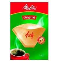 Фильтры для кофеварок Melitta Original 40шт/уп, 1х4 см