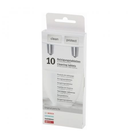 фото: Очищающие таблетки Bosch VeroSeries TCZ8001 для очистки кофемашин и удаления запахов 2.2г х 10шт