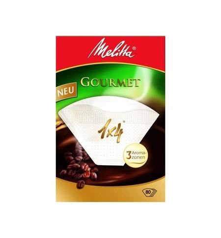 фото: Фильтры для кофеварок Melitta Gourmet белый 80шт/уп, 1х4см, 3 арома-зоны
