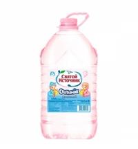 Вода Святой Источник Светлячок детская 5 литров