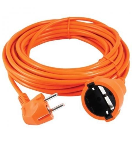 фото: Удлинитель электрический Power Cube 1 розетка 10м, оранжевый, заземление