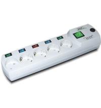 Сетевой фильтр Most ERG 5 розеток 5м, белый