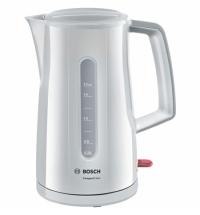 Чайник электрический Bosch Compact Class TWK3A011 белый 1.7 л, 2400 Вт