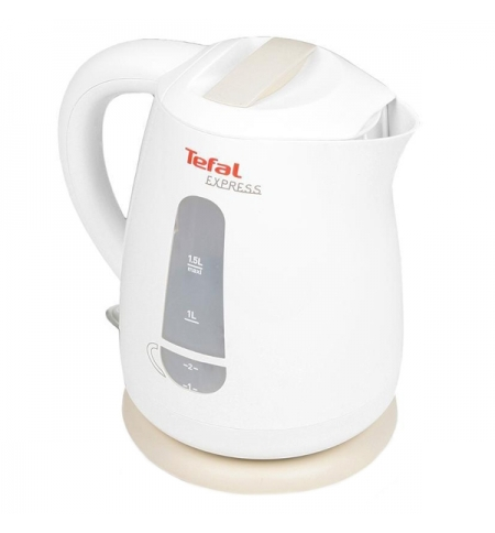 фото: Чайник электрический Tefal KO299 белый 1.5 л, 2200 Вт