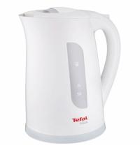 Чайник электрический Tefal Aqua KO2701 белый 1.7 л, 2400 Вт