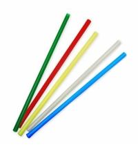 Трубочки для коктейлей Артпласт для мартини цветные без изгиба, d 0.5см, 12.5см, 400шт/уп