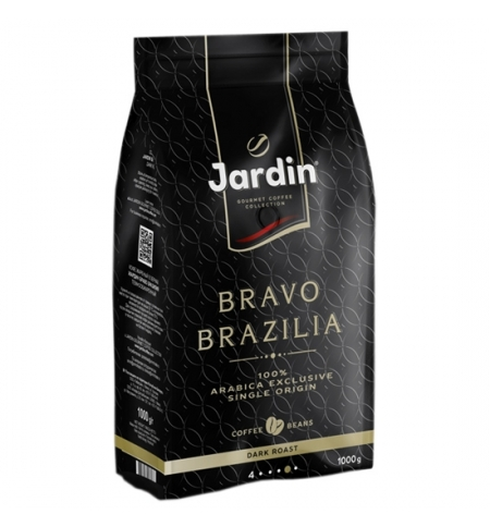 фото: Кофе в зернах Jardin Bravo Brazilia (Браво Бразилия) 1кг пачка