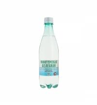 Новотерская минеральная вода 0,5 л газированная, ПЭТ