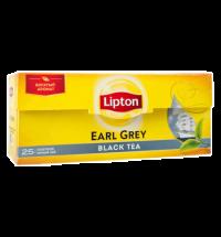 Чай Lipton Earl Grey черный, 25 пакетиков