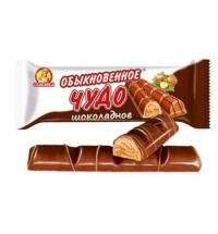 Батончик шоколадный Славянка Обыкновенное чудо сливочный 55г