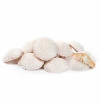 Печенье Баттерфляй Лукошко пломбир в белой глазури и с кокосовой стружкой 2кг