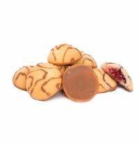 Печенье Баттерфляй Лукошко с малиновым джемом 2кг