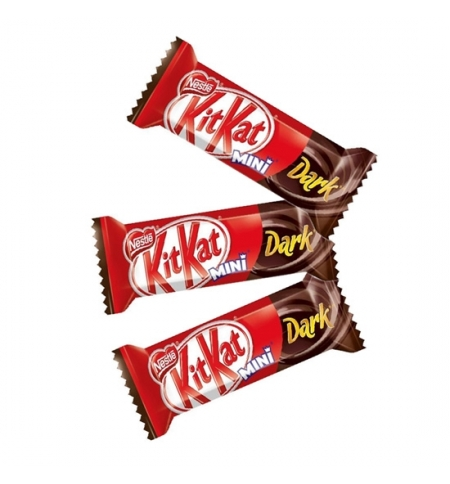 фото: Батончик шоколадный Kit Kat Mini в темном шоколаде 3кг