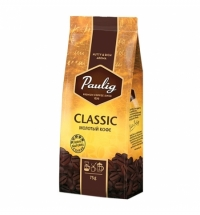 Кофе молотый Paulig Classic 75г пачка
