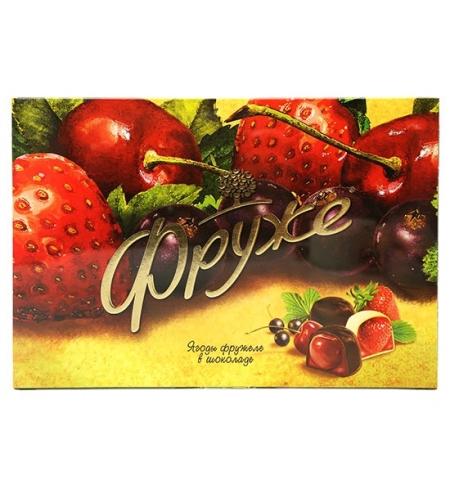 фото: Конфеты Фруже Ягоды в шоколаде 190г