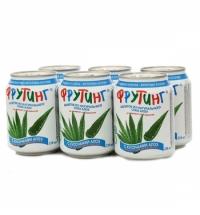 Сокосодержащий напиток Fruiting Алоэ-ананас без газа, 238мл х 6шт, ж/б