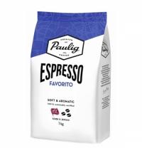 Кофе в зернах Paulig Espresso Favorito 1кг пачка