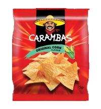 Чипсы Carambas кукурузные оригинальные 150г