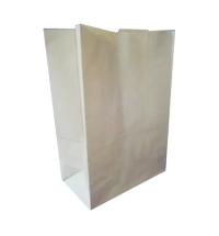 Пакет бумажный Huhtamaki на вынос 21.5x11.8x30.5см, крафт50, 50шт/уп