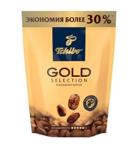 Кофе растворимый Tchibo Gold Selection 150г пакет
