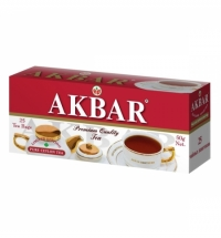 Чай Akbar Pure Ceylon черный 25 пакетиков